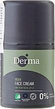 Parfums et Produits cosmétiques Crème à la vitamine E pour visage - Derma Man Face Cream