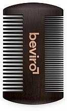 Parfums et Produits cosmétiques Peigne à barbe - Beviro Pear Wood Beard Comb