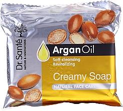 Parfums et Produits cosmétiques Savon-crème à l'huile d'argan pour visage - Dr.Sante Cream Soap