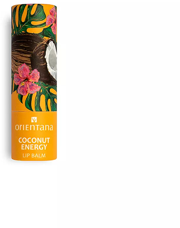 Baume à lèvres à l'huile de noix de coco - Orientana