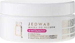 Parfums et Produits cosmétiques Masque à la soie et vitamines pour cheveux - Silcare Quin Silk & Vitamins Hair Mask