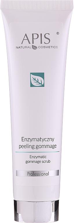 Gommage enzymatique à l'acide salicylique pour visage - Apis Professional Enzymatic Gommage Scrub