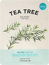 Parfums et Produits cosmétiques Masque tissu équilibrant à l'arbre à thé pour le visage - It's Skin The Fresh Mask Sheet Tea Tree