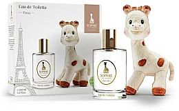 Parfums et Produits cosmétiques Parfums Sophie La Girafe Eau de Toilette - (edt/100ml+toy)