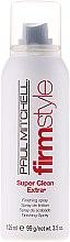 Parfums et Produits cosmétiques Spray de finition fixation forte - Paul Mitchell Firm Style Super Clean Extra