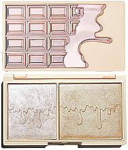 Parfums et Produits cosmétiques Palette d'enlumineurs - I Heart Revolution Chocolate Rose Gold Glow