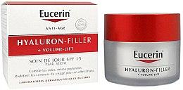 Parfums et Produits cosmétiques Soin de jour pour peau sèche - Eucerin Hyaluron-Filler+Volume-Lift Day Cream SPF15