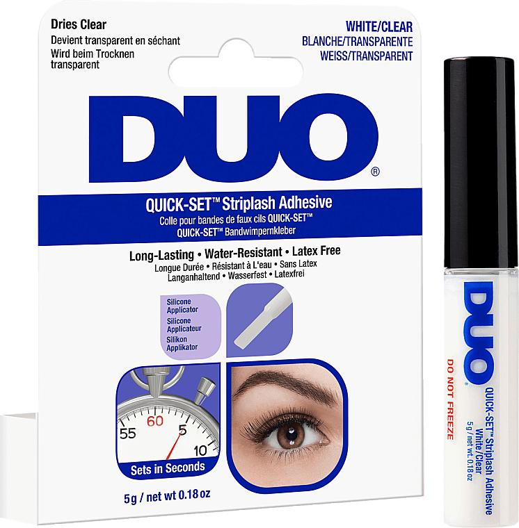 Colle pour faux-cils longue durée, transparent - Ardell Duo Quick Set — Photo N1