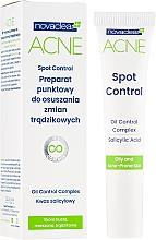 Parfums et Produits cosmétiques Traitement ani-acné à l'acide salicylique pour visage - Novaclear Acne Spot Control