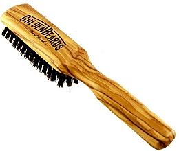 Parfums et Produits cosmétiques Brosse à barbe, 20 cm - Golden Beards Beard Brush