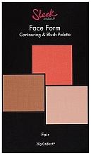 Parfums et Produits cosmétiques Palette contouring et blush, 3 couleurs claires - Sleek Makeup Face Form Ultimate Contour Kit Fair