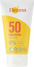 Parfums et Produits cosmétiques Lotion solaire pour corps et visage - Derma Sun Lotion SPF50