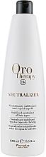 Parfums et Produits cosmétiques Neutralisant pour cheveux - Fanola Oro Therapy Neutralizer