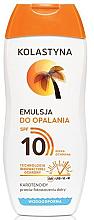 Parfums et Produits cosmétiques Émulsion solaire waterproof SPF10 - Kolastyna