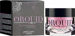 Parfums et Produits cosmétiques Crème de nuit à l'extrait d'orchidée - PostQuam Orquid Eternal Moisturizing Night Cream