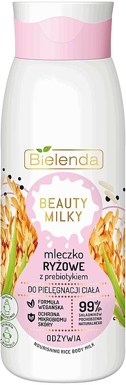 Lait au lait de riz pour corps - Bielenda Beauty Milky Nourishing Rice Body Milk