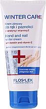 Parfums et Produits cosmétiques Crème à la kératine et vitamine E pour mains et ongles - Floslek Winter Care Hand And Nail Winter Cream