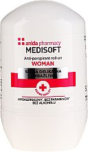 Parfums et Produits cosmétiques Anti-transpirant roll-on - Anida Pharmacy Medisoft Woman Deo Roll-On