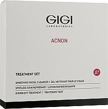 Parfums et Produits cosmétiques Gigi Treatment Set - Coffret soin visage(nettoyant/100ml+crème de nuit/50ml+lotion tonique/120ml)