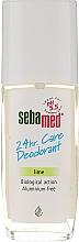 Parfums et Produits cosmétiques Déodorant spray parfumé - Sebamed Lime 24H Classic Deodorant Spray