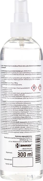Spray désinfectant pour mains - Synteza Dezasept Antibacterial Hand Spray — Photo N2