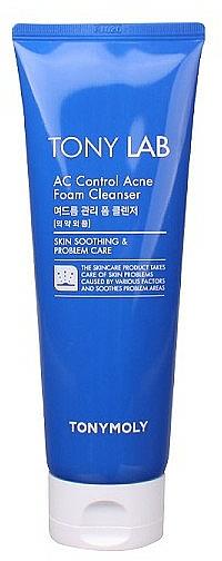 Mousse lavante à l'extrait de pourpier pour visage - Tony Moly Tony LAB AC Control Acne Cleansing Foam