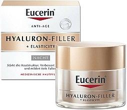 Parfums et Produits cosmétiques Crème de nuit à l'acide hyaluronique - Eucerin Hyaluron-Filler + Elasticity Night Cream