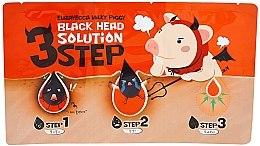 Parfums et Produits cosmétiques Soin anti-comédones en trois étapes - Elizavecca Milky Piggy Black Head Solution 3 Step