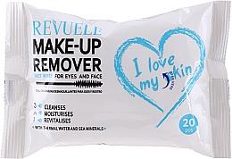 Parfums et Produits cosmétiques Lingettes démaquillantes à l'eau thermale - Revuele Make-Up Remover I Love My Skin Wet Wipes