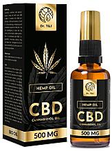 Parfums et Produits cosmétiques Huile essentielle de chanvre 500mg - Dr. T&J Bio Oil