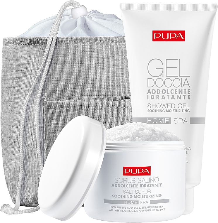 Coffret cadeau - Pupa Home Spa Water Lily Extract (sh/gel/300ml + salt/scrub/350g) — Photo N1