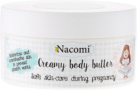 Beurre corporel crémeux pour femme enceinte - Nacomi Pregnant Care Creamy Body Butter