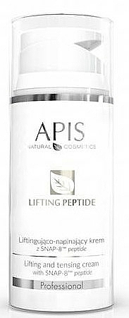 Crème anti-rides aux peptides pour visage - APIS Professional Lifting Peptide Lifting And Tensing Cream — Photo N1