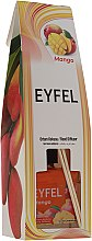 Parfums et Produits cosmétiques Bâtonnets parfumés, Mangue - Eyfel Perfume Reed Diffuser Mango