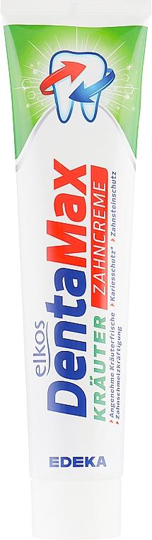Dentifrice à l'extrait d'herbes - Elkos Dental Denta Max