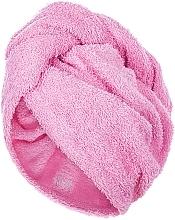 Parfums et Produits cosmétiques Serviette pour cheveux, rose, 68x26cm - MakeUp