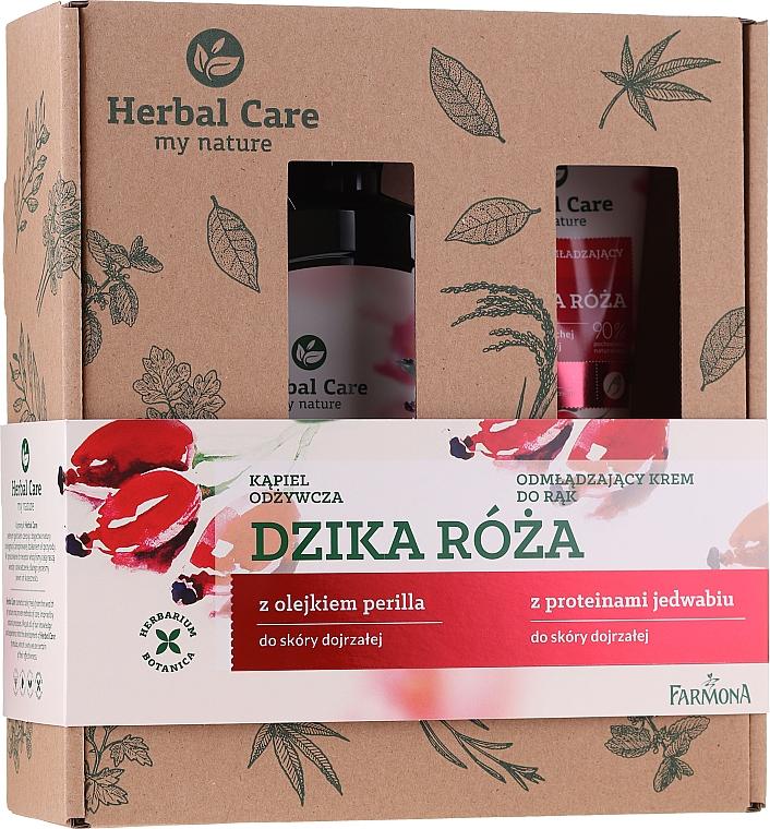 Farmona Herbal Care - Set (gel douche/500ml + crème pour mains/100m)