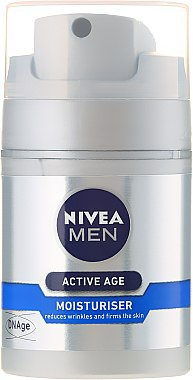 Crème à l'acide folique pour visage - Nivea For Men Aktive Age Moisturiser Cream — Photo N2