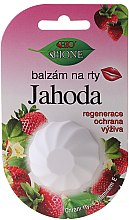 Parfums et Produits cosmétiques Baume à lèvres à la fraise et à la vitamine E - Bione Cosmetics Vitamin E Lip Balm