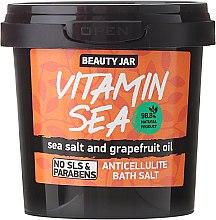 Parfums et Produits cosmétiques Sels de bain anti-cellulite au sel de mer et huile de pamplemousse - Beauty Jar Anticellulite Bath Salt