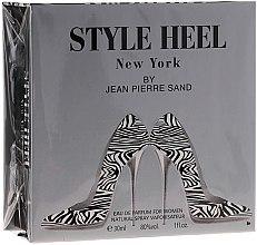 Parfums et Produits cosmétiques Jean-Pierre Sand Style Heel New York - Eau de Parfum