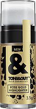 Parfums et Produits cosmétiques Enlumineur pour cheveux - Toni&Guy Rose Gold Highlighter