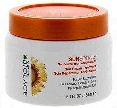 Parfums et Produits cosmétiques Soin réparateur après-soleil au tournesol pour cheveux - Biolage Sunsorials Sun Repair Treatment