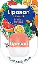 Parfums et Produits cosmétiques Baume à lèvres, Pamplemousse et Fruit de la passion - Liposan Pop Ball