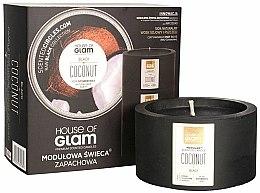 Parfums et Produits cosmétiques Bougie parfumée de soja et cire d'abeille - House of Glam Black Coconut Candle