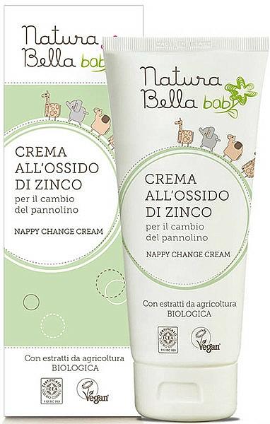 Crème de change vegan à l'extrait de son d'avoine - Naturabella Baby Anti-inflammatory Cream — Photo N1