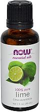 Parfums et Produits cosmétiques Huile essentielle de lime - Now Foods Essential Oils 100% Pure Lime