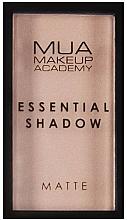 Parfums et Produits cosmétiques Fard à paupières - MUA Essential Shadow Matte