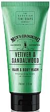 Parfums et Produits cosmétiques Shampooing et gel douche, Vétiver et bois de santal - Scottish Fine Soaps Vetiver & Sandalwood Hair Body Wash