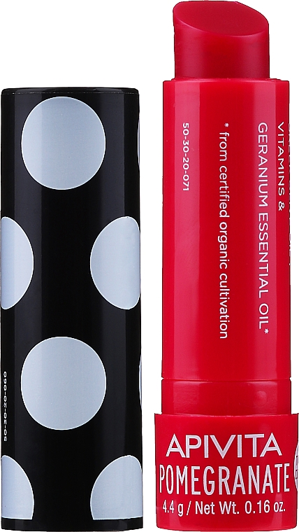 Baume à lèvres Grenade - Apivita Ruby Lips Limited Edition 40 Years Lip Care Pomegranate